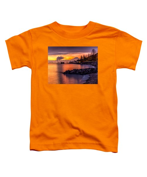 Magical Sunrise On Commencement Bay Toddler T-Shirt