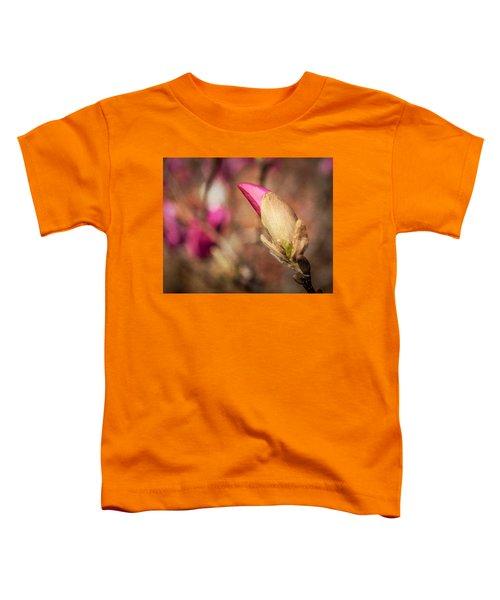 Magnolia Bud Artified Toddler T-Shirt