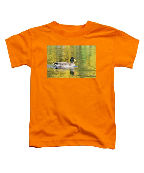 Mallard In Yellow Toddler T-Shirt