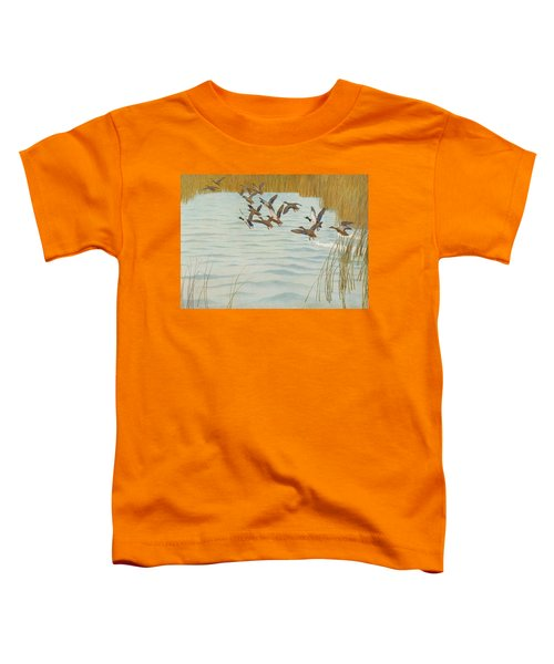 Mallards In Autumn Toddler T-Shirt