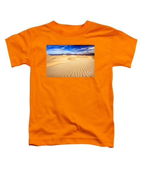 Mesquite Flat Sand Dunes In Death Valley Toddler T-Shirt