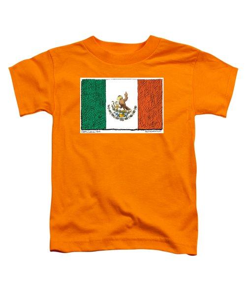 Mexico Flips Bird Toddler T-Shirt