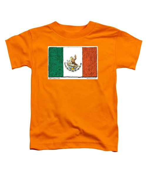 Mexico Flips Bird Toddler T-Shirt
