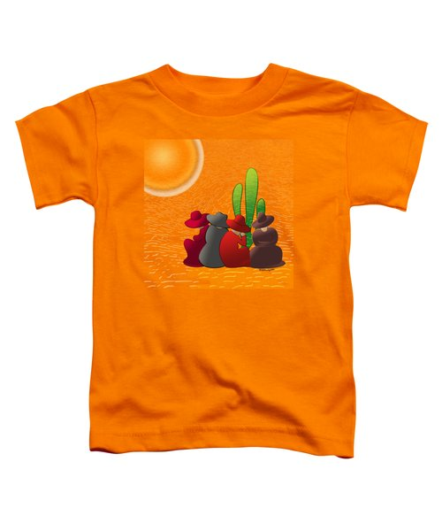 Midday Siesta Toddler T-Shirt by Methune Hively