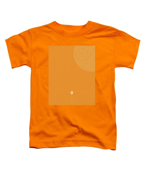 Millennium Falcon Meets Death Star Toddler T-Shirt