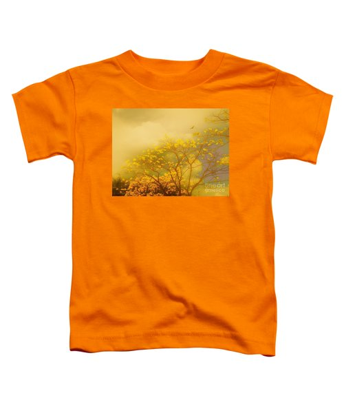 Misty Yellow Hue -poui Toddler T-Shirt