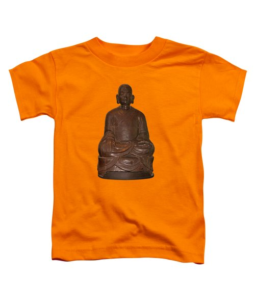 Monk Seated Toddler T-Shirt