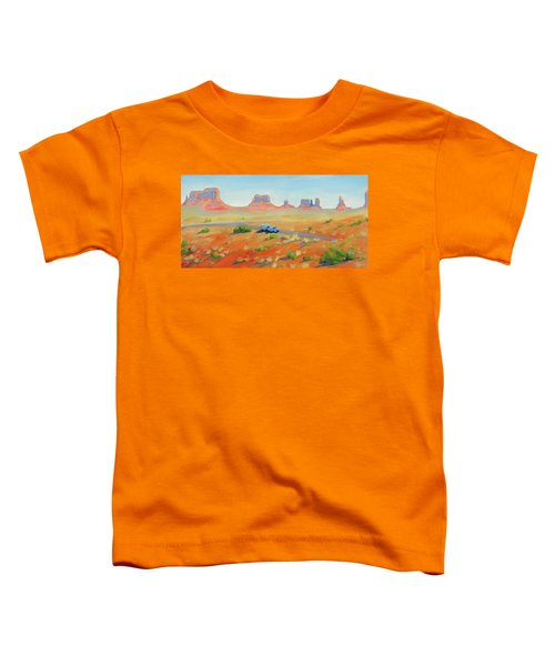 Monument Valley Vintage Toddler T-Shirt