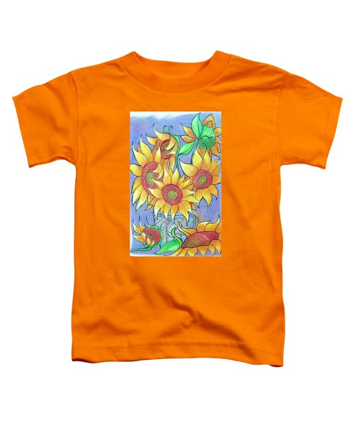 More Sunflowers Toddler T-Shirt