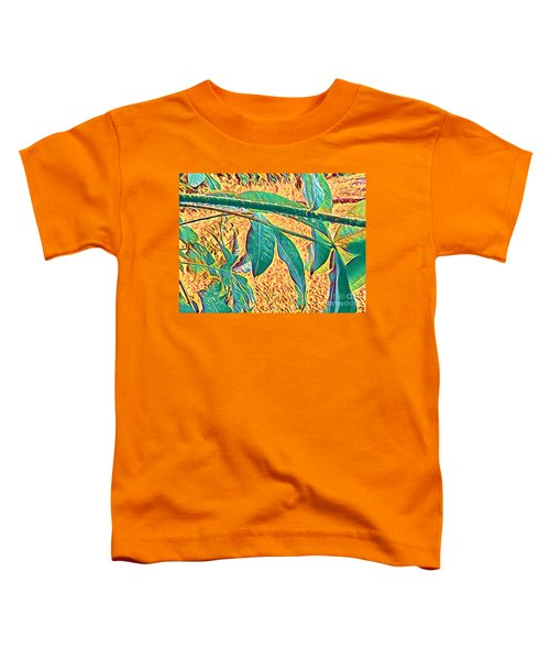 Morning Dew Drops In Puna Toddler T-Shirt