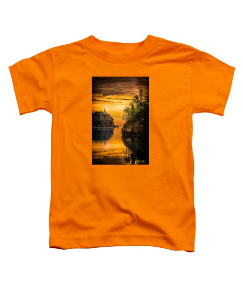 Toddler T-Shirt featuring the photograph Morning Glow Against The Light by Rikk Flohr