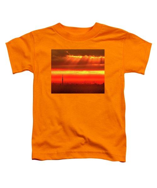 Morning Glow Toddler T-Shirt by Tatsuya Atarashi