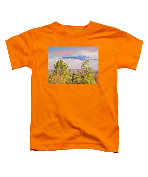 Morning Mountain View Northern New Hampshire. Toddler T-Shirt