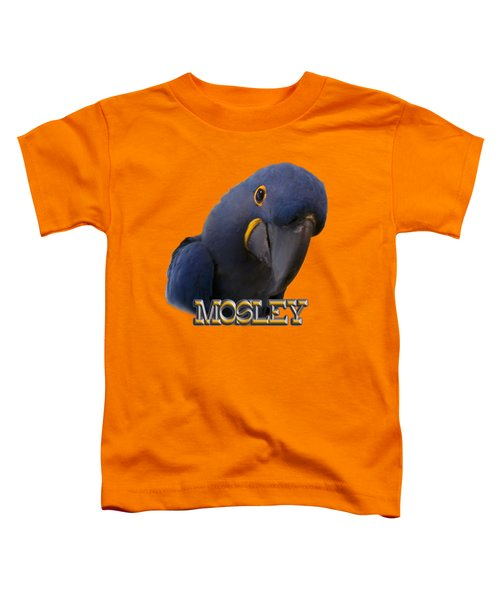 Mosley Toddler T-Shirt by Zazu's House Parrot Sanctuary