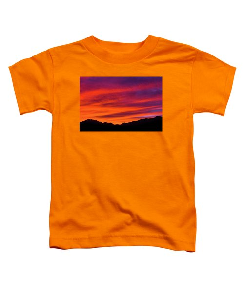 Mount Franklin Purple Sunset Toddler T-Shirt
