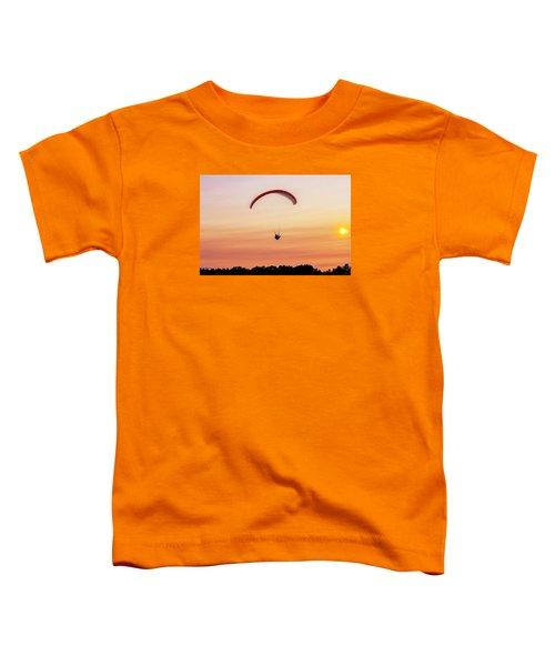Mount Tom Parachute Toddler T-Shirt