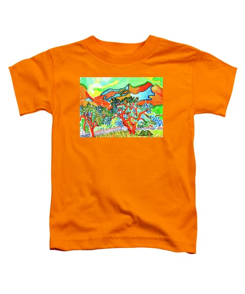 Mountains At Collioure Toddler T-Shirt