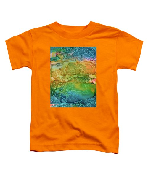 Mountains, Trees, Icy Seas Toddler T-Shirt