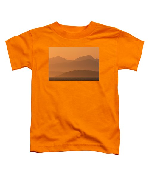 Mull Sunrise Toddler T-Shirt
