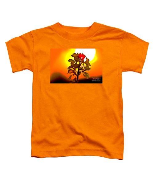 Mustard Sunset Toddler T-Shirt