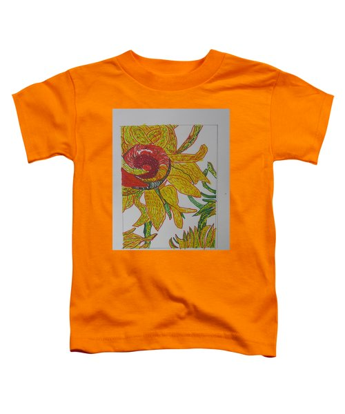 My Version Of A Van Gogh Sunflower Toddler T-Shirt