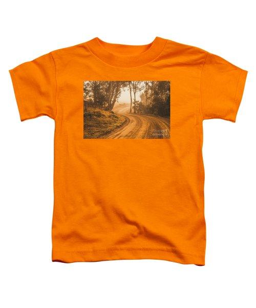 Mysterious Autumn Trail Toddler T-Shirt