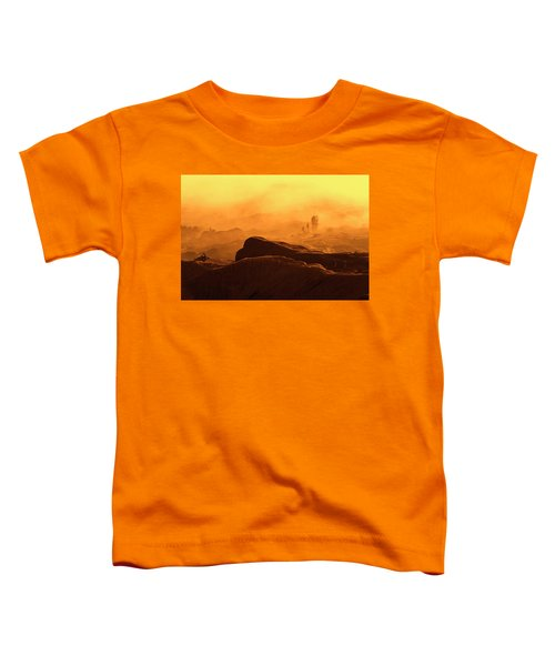 mystical view from Mt bromo Toddler T-Shirt