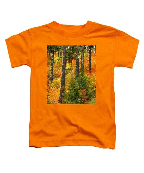N W Autumn Toddler T-Shirt
