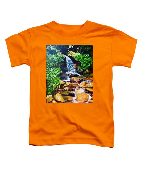 Nantahala Waterfall Toddler T-Shirt