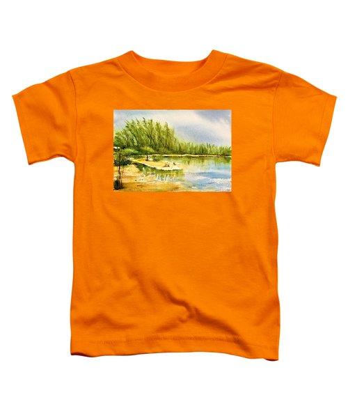 Near The Lake 4 Toddler T-Shirt