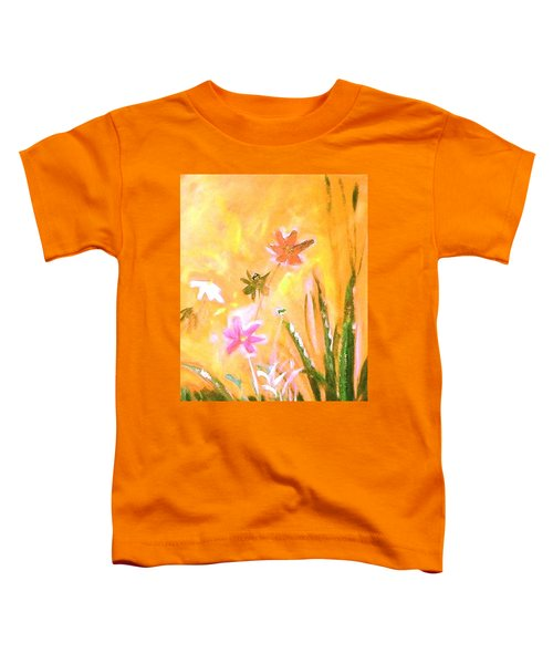 New Daisies Toddler T-Shirt by Winsome Gunning