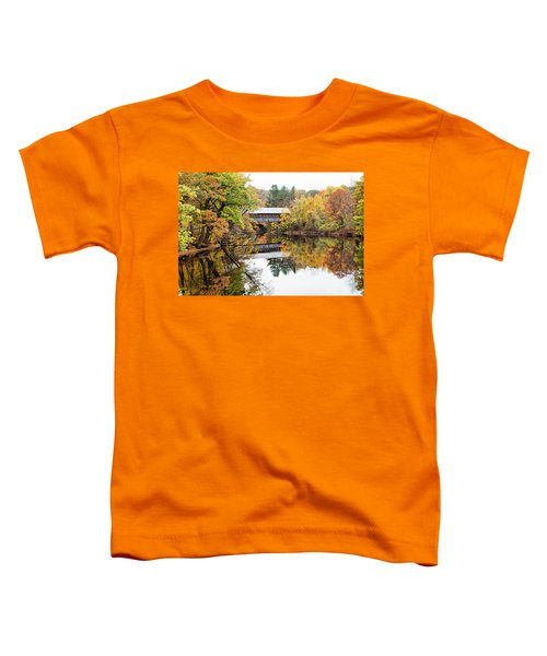 New England Covered Bridge No.63 Toddler T-Shirt