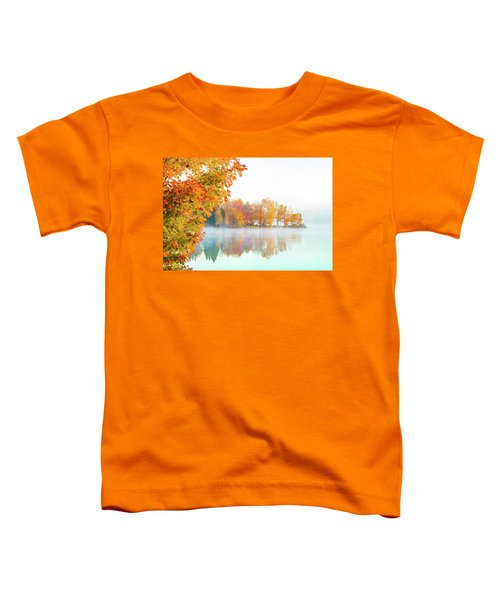 New England Fall Colors Of Maine Toddler T-Shirt