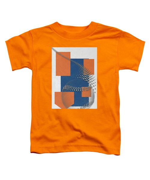 New York Mets Art Toddler T-Shirt