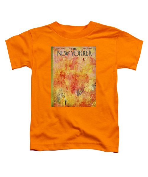 New Yorker October 12th 1957 Toddler T-Shirt