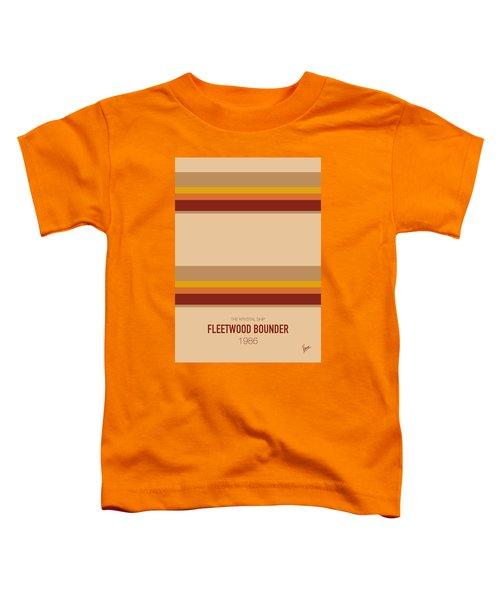 No005 My Breaking Bad Minimal Movie Car Poster Toddler T-Shirt