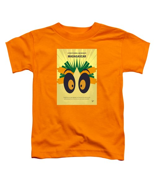 No589 My Madagascar Minimal Movie Poster Toddler T-Shirt