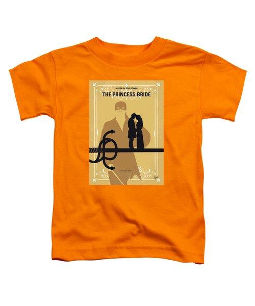 No877 My The Princess Bride Minimal Movie Poster Toddler T-Shirt