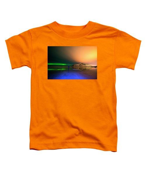 Northern Light In Lofoten, Nordland 4 Toddler T-Shirt