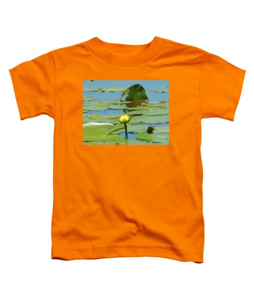 Nuphar Lutea Yellow Pond Toddler T-Shirt