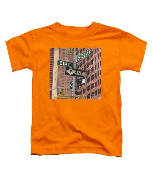 Nyc Broadway 2 Toddler T-Shirt