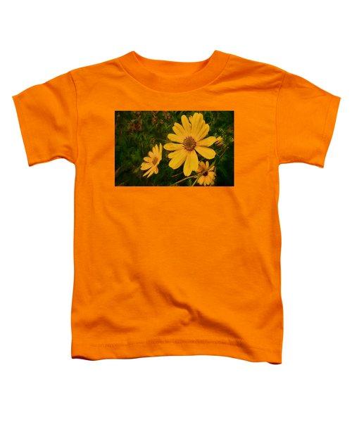 Oil Glaze Wildflowers Toddler T-Shirt