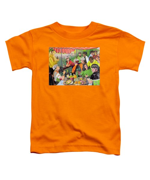 Oil- Luncheon Of The Cycling Party Toddler T-Shirt