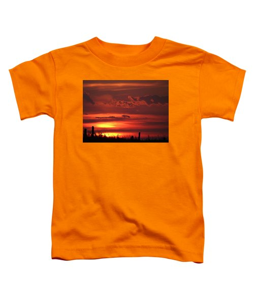 Oklahoma Sky At Daybreak  Toddler T-Shirt