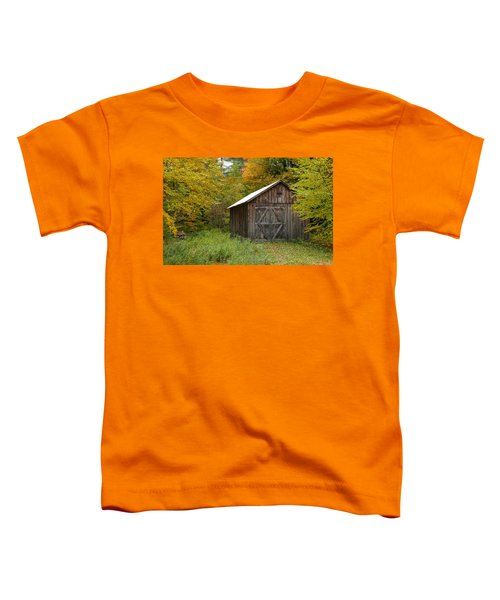 Old Barn New England Toddler T-Shirt