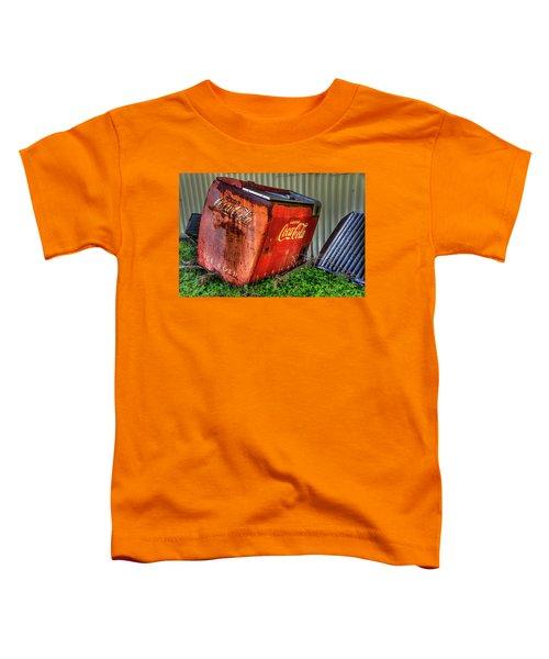 Old Coke Box Toddler T-Shirt