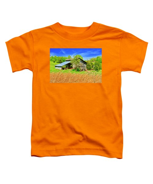 Old Country Barn Toddler T-Shirt