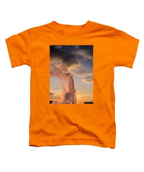 Old Faithful Yellowstone Toddler T-Shirt