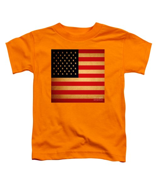 Old Glory . Square Toddler T-Shirt