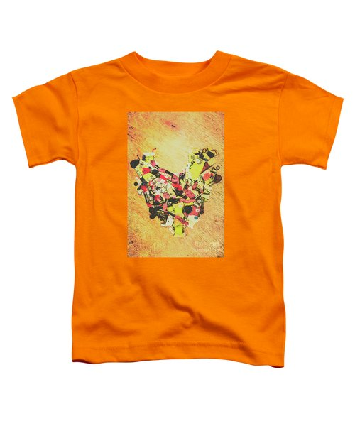 Old Threads And Hearts Toddler T-Shirt